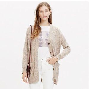 NWT Madewell long cardigan sweater